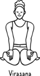 Virasana 157