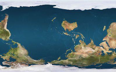 Le planisphère, cette représentation tronquée du monde