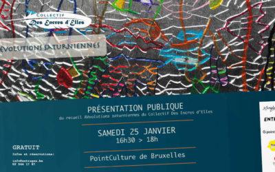 Révolutions saturniennes: lecture publique et récits sur le changement