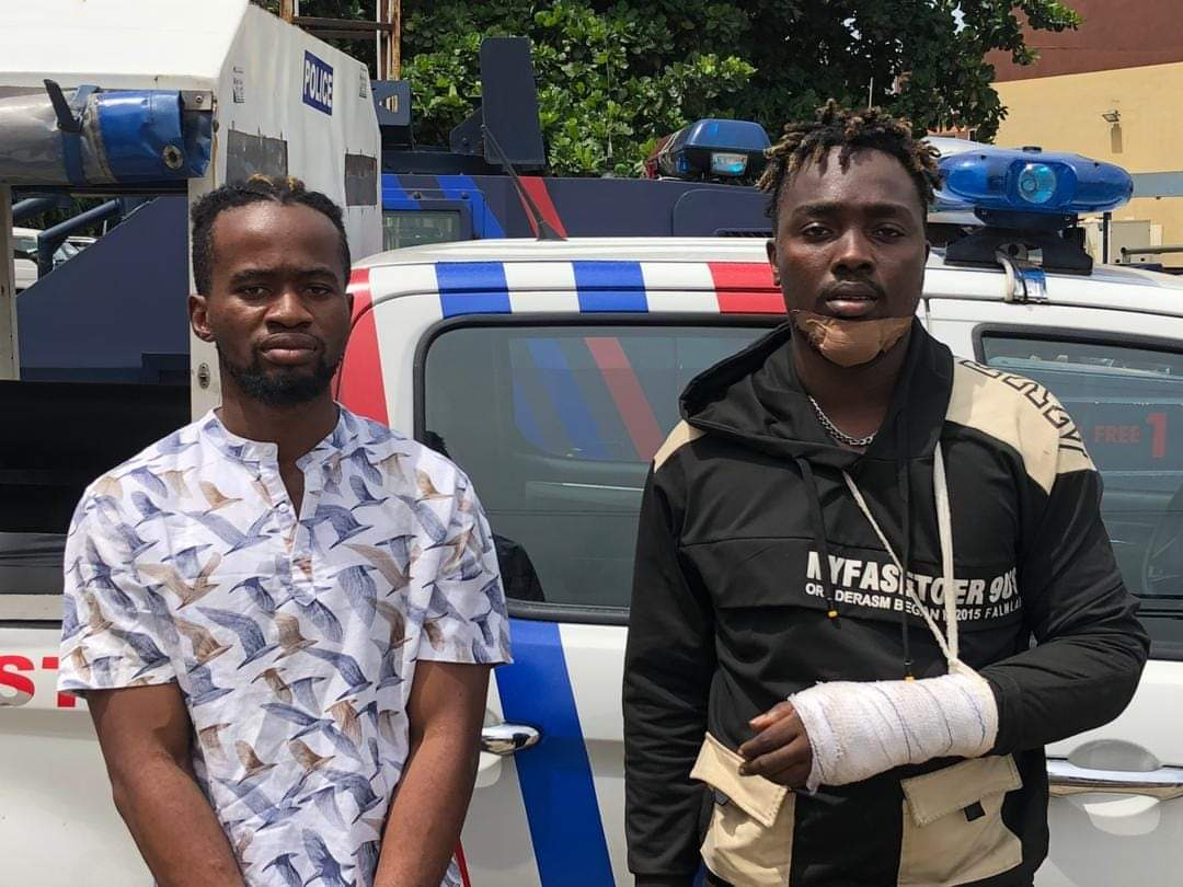 HOW #COVID19 LOCKDOWN FORCED US INTO ROBBERY, MUSICIANS ARRESTED BY RRS CONFESS…Suspect Jumped Off Naked From Upstairs To Evade Arrest