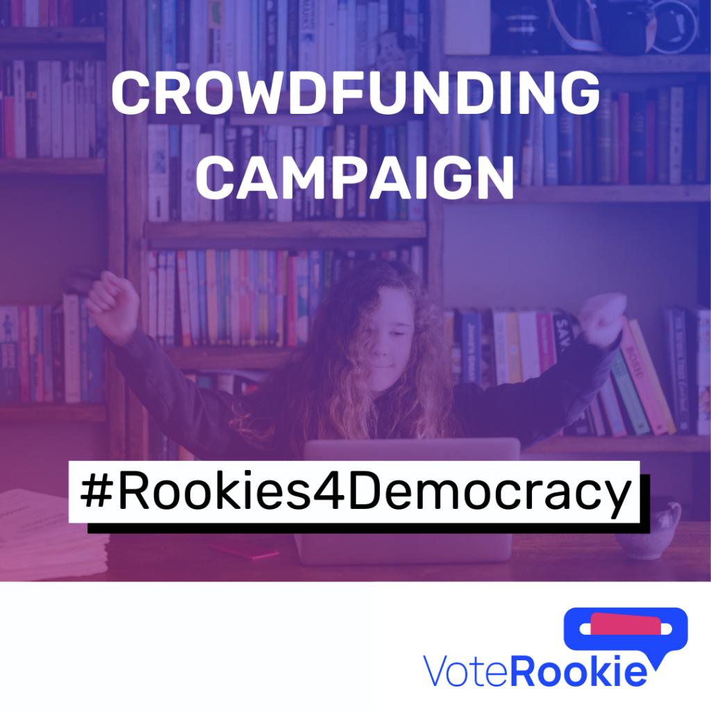 Insta Vorlage Vote Rookie Crowdfunding