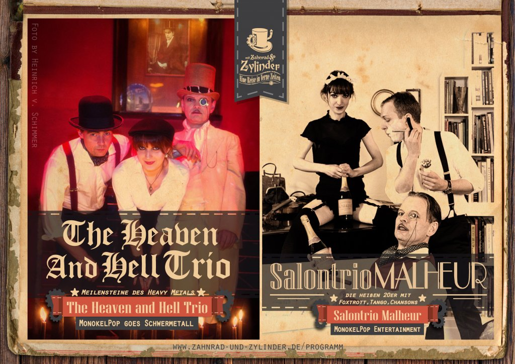 The Heaven and Hell Trio, Salontrio Malheur