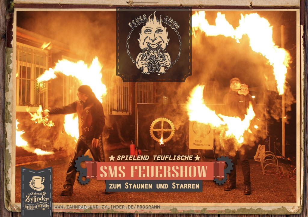 SMS-Feuershow