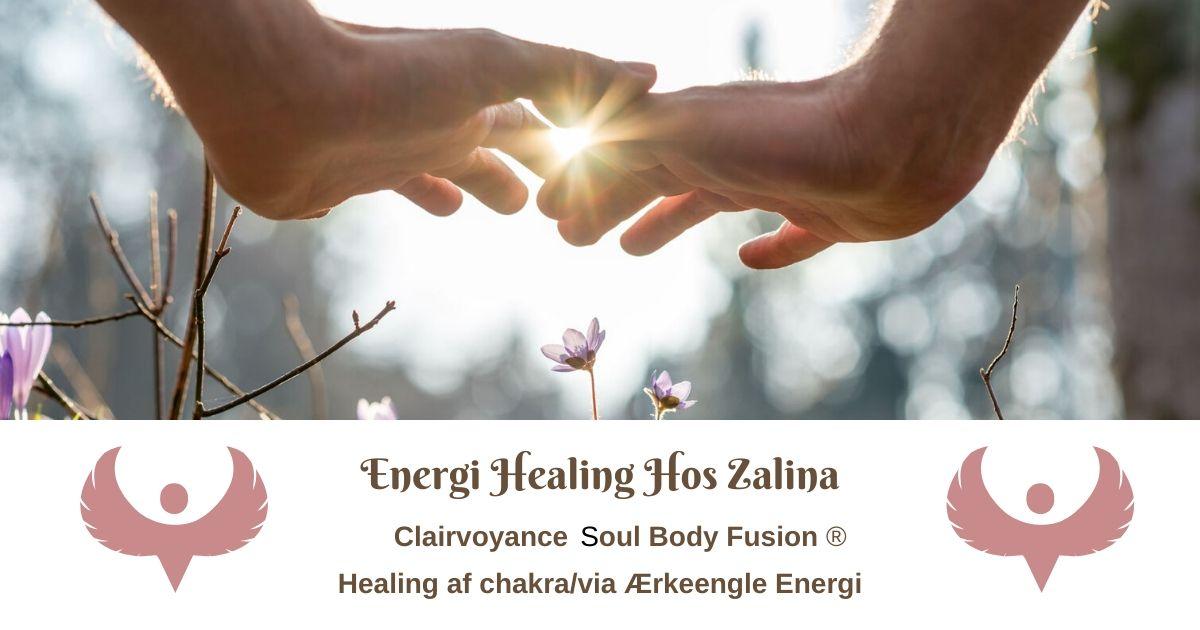 Beskrivelse af tekniker der bliver brugt når du modtager energi healing