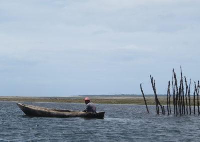 Funzi Island - Fisherman