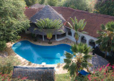 Zarafa House - Aerial view