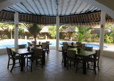 Zarafa House - Dining area