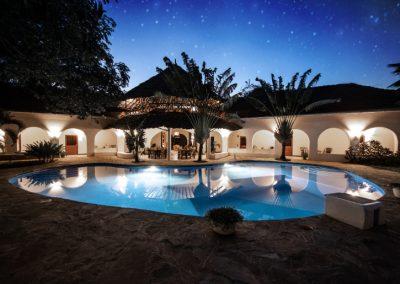 Zarafa House - By night