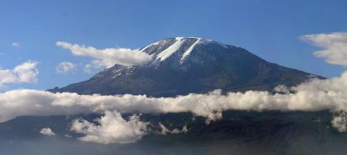 Mount Kilimanjaro View From Moshi Town