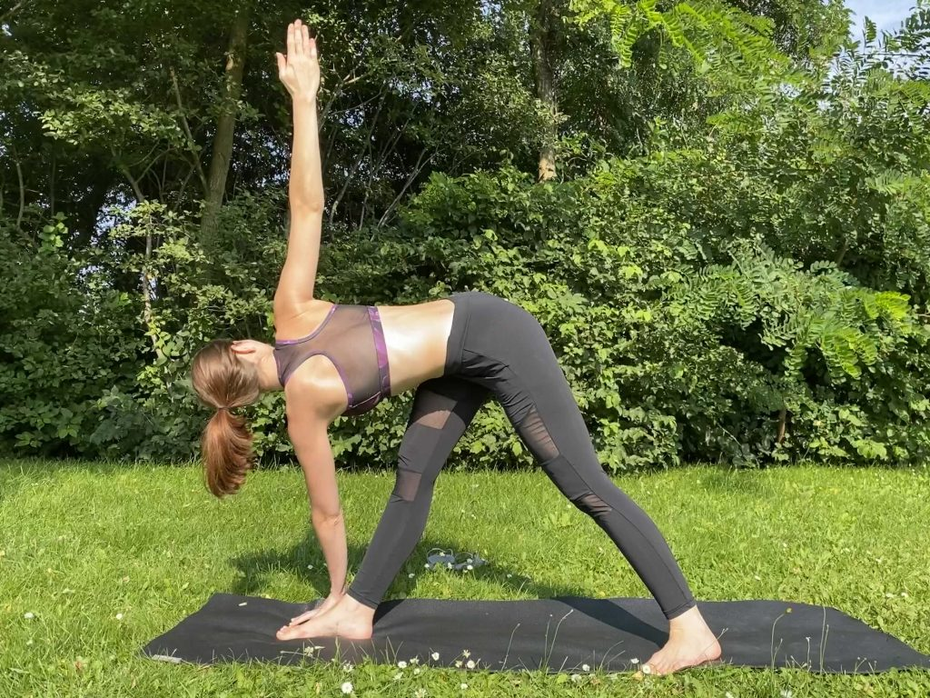 Revolved Triangle Pose - Zen With Debby