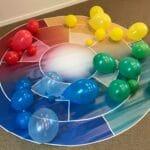 Lederkursus med brug af balloner