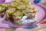 millefoglie spigole zucchine