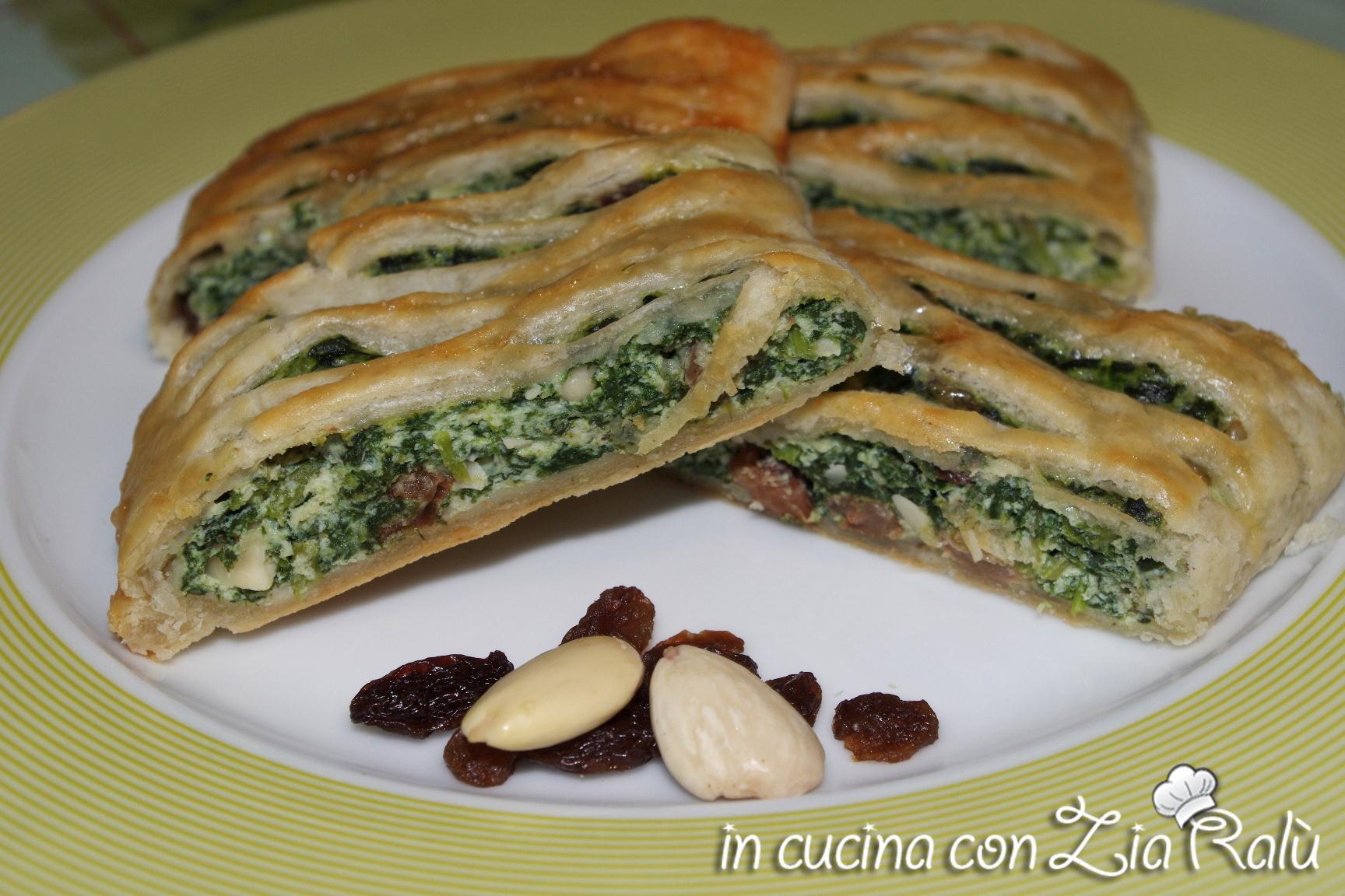 strudel ricotta e spinaci