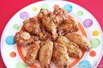 ali di pollo fritte aromatizzate