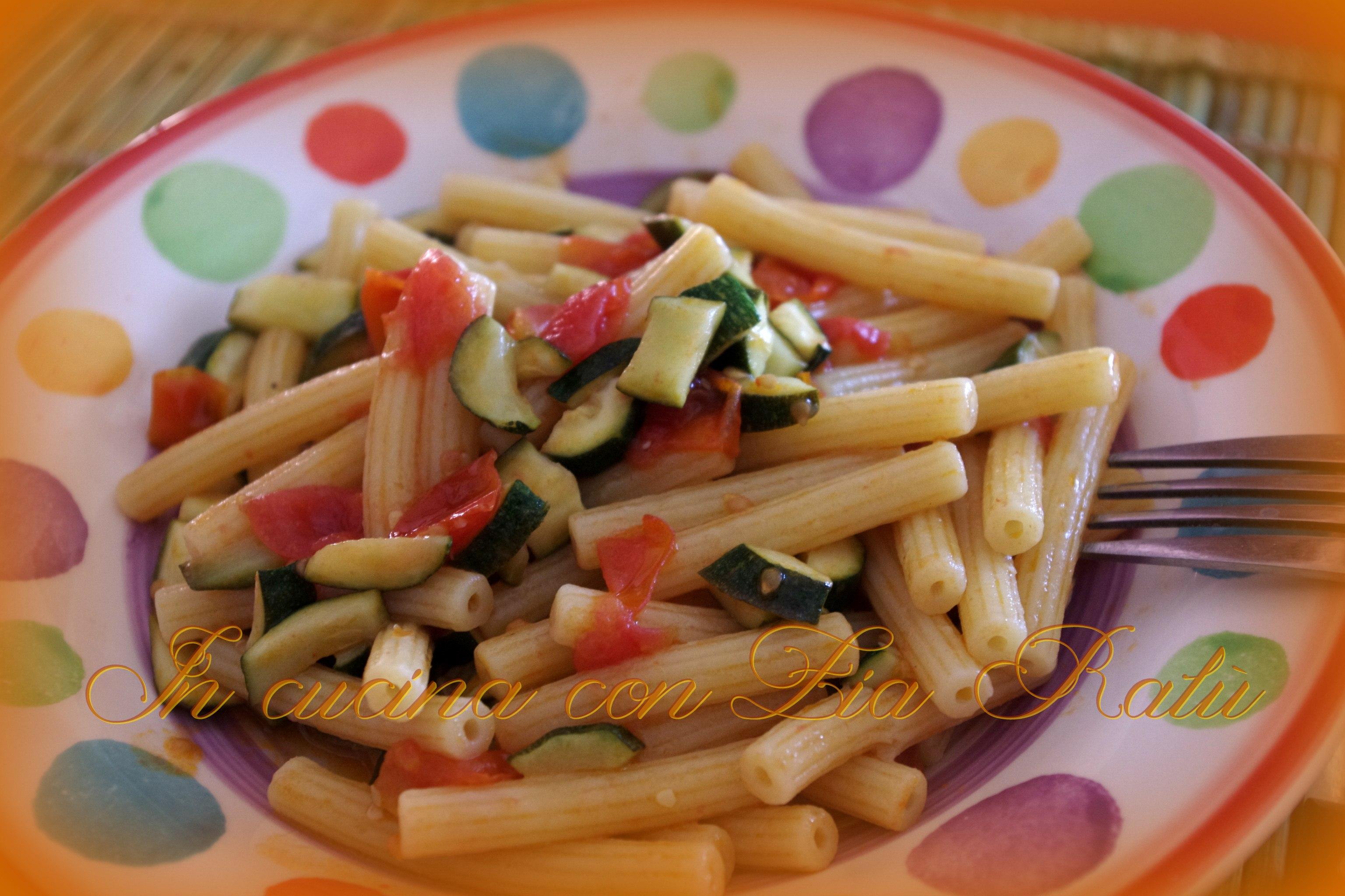 sedanini zucchine