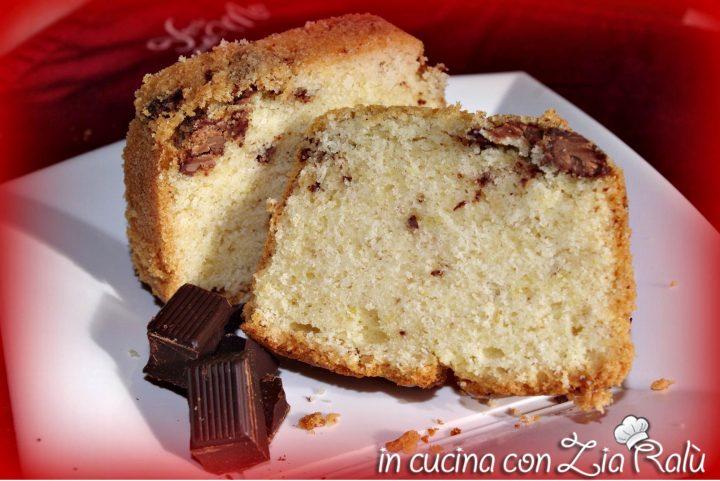 ciambella aromatizzata al cioccolato