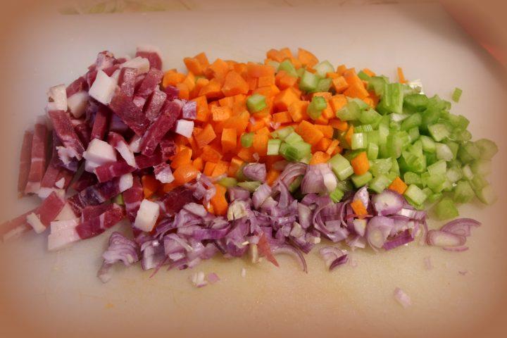 Zuppa di lenticchie con speck
