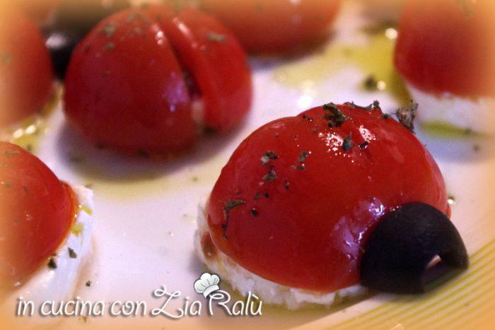 coccinelle di pomodori