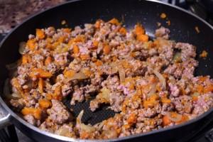 strudel integrale carne e carote