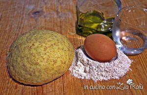 Pasta per strudel salati integrale