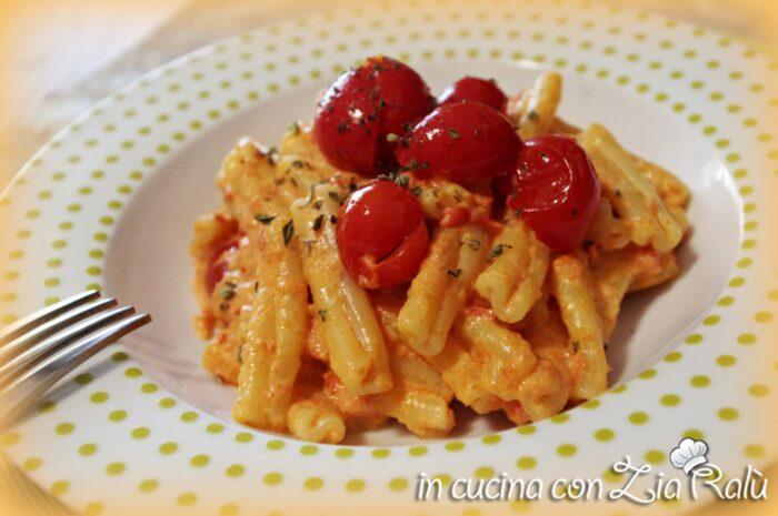 Caserecce robiola e pomodorini