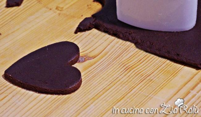 pasta frolla cacao rum e cannella