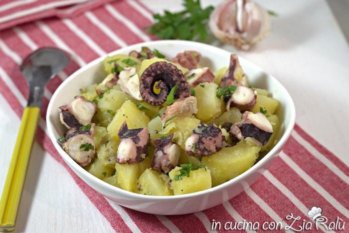 Insalata di polpo e patate tiepida