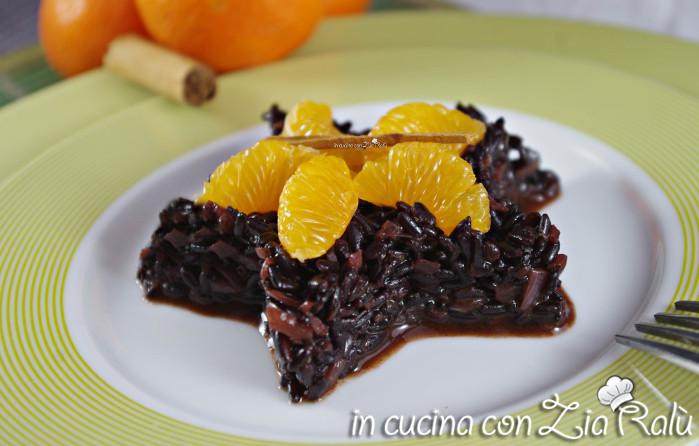 riso venere mandarino e cannella