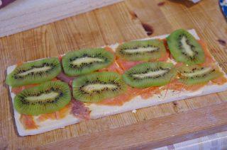 girelle salmone e kiwi