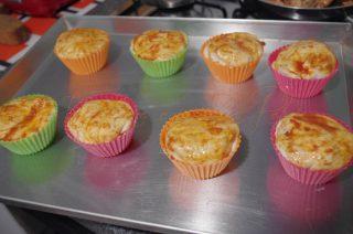 muffins rustici ricotta prosciutto e scamorza