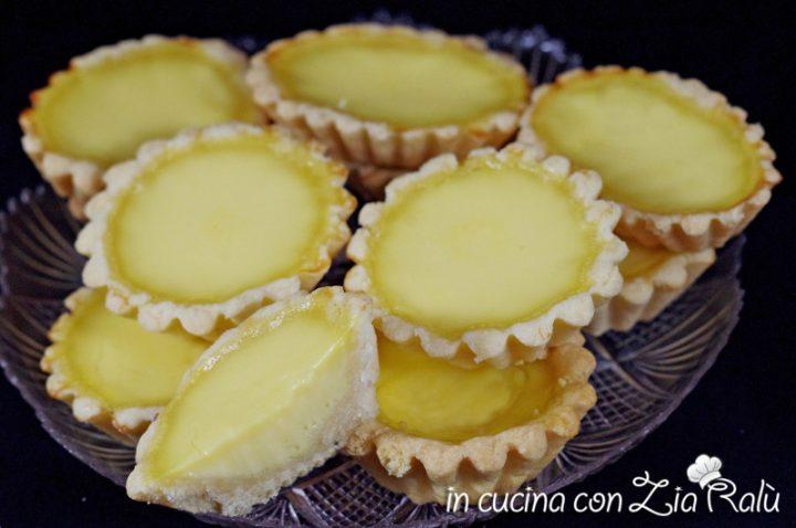 crostatine dolci alla crema