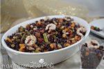 riso venere gamberi verdure