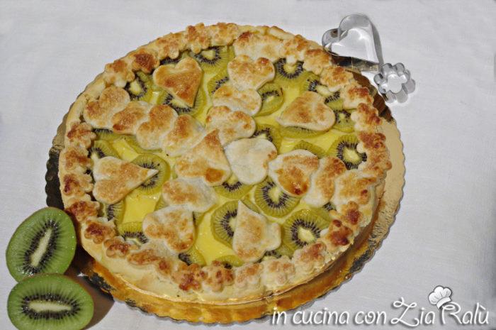 crostata crema kiwi