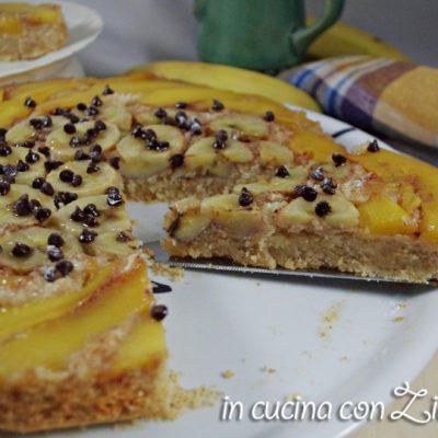 torta rovesciata banana mango