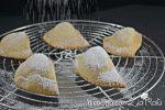 panzerotti dolci ripieni amaretti e pesche