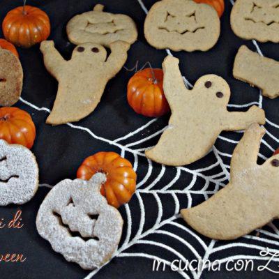 biscotti zucche fantasmi