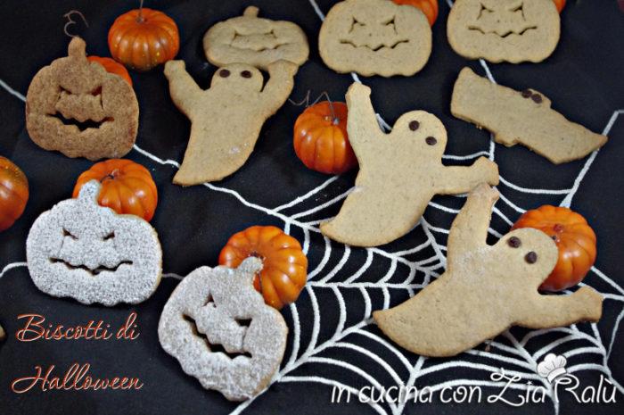 Biscotti zucche fantasmi – festa Halloween