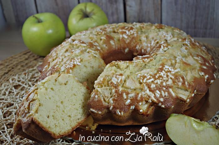 Ciambella alle mele e zuccherini