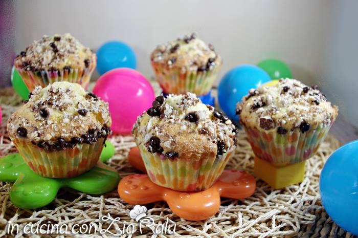 Muffins sofficissimi al farro mela e cocco