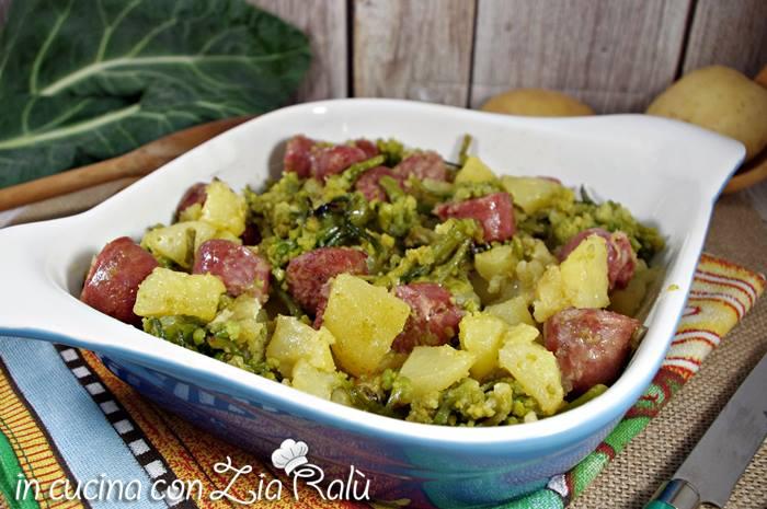 patate salsiccia e broccolo romano