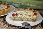 torta salata ricotta wurstel e cardi