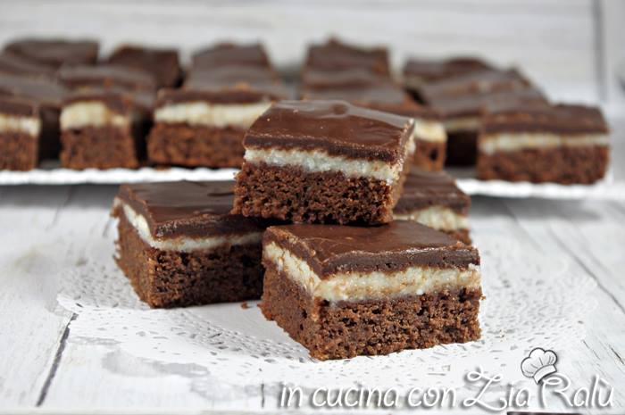 brownies mascarpone e cioccolato