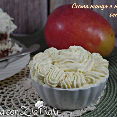 crema mango e mascarpone