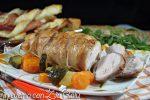 polla nella pancetta al forno