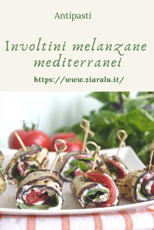 involtini di melanzane mediterranei