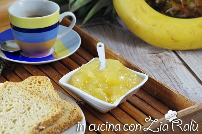 confettura ananas mela banana