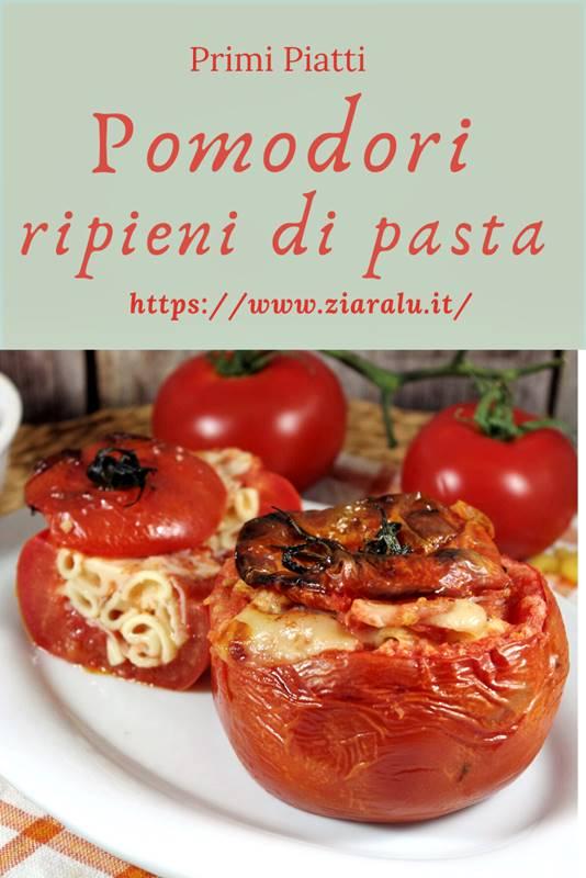 pomodori ripieni di pasta