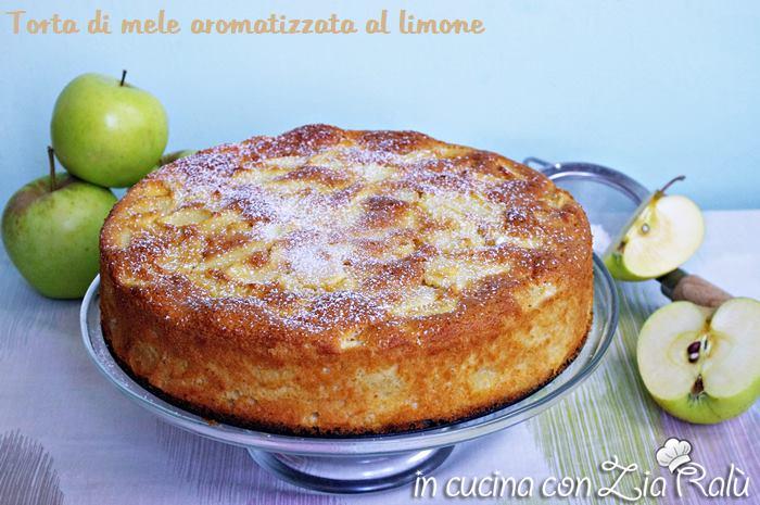 torta-di-mele-profumata-al-limone