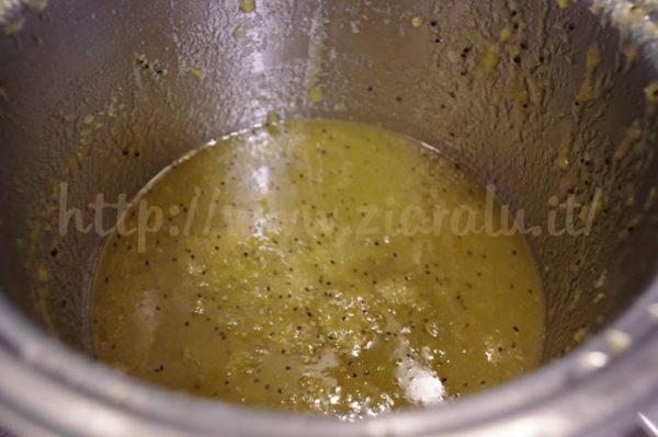 confettura kiwi arance