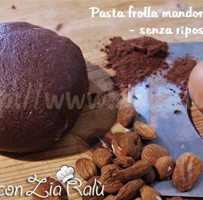pasta frolla alle mandorle e cacao